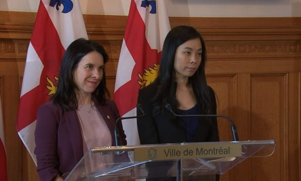Valérie Plante Cathy Wong