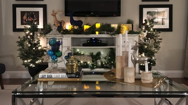 damien packwood from damien morris designs in charlottetown shows off some decorating tips he used in his own home this season