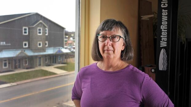Wendy Chappell is pictured inside her business The Whole Way Health and Fitness Studio in Charlottetown.