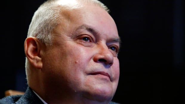 Dmitry Kiselyov, the Kremlin-friendly host of a highly watched Sunday night talk show in Russia, recently suggested the parade of Western women coming forward with allegations against famous men represents 'an explosive mix of political correctness' and 'hypocrisy.'