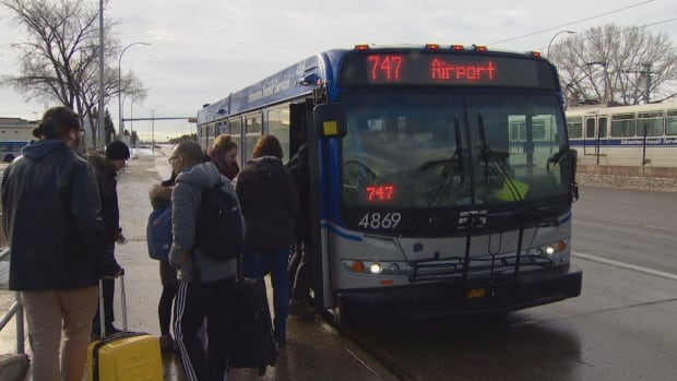 The city is considering raising fares and reducing service on route 747 to the international airport.