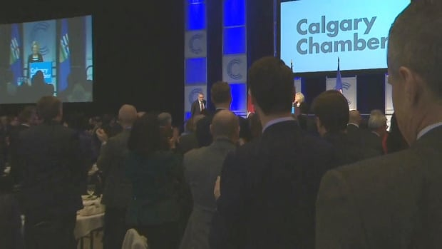 Notley Chamber Standing Ovation