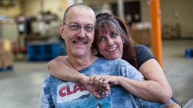 Stacey and Joe Berger relied on the Daily Bread Food Bank to get through a difficult time. The couple not only received food, but training, and best of all, a sense of community.