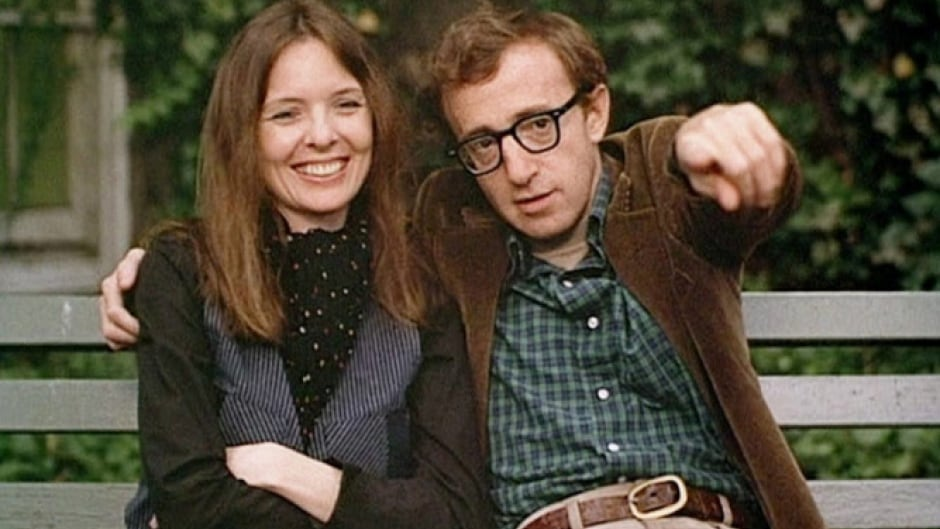 Dianne Keaton and Woody Allen in his 1977 film, 'Annie Hall.'