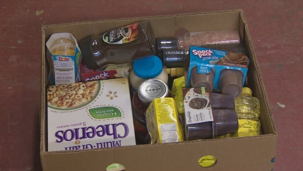There is a big demand for the food bank in the Greystone area, where about 140 people a month use the service.