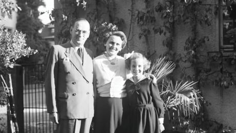 Carl Lutz, Magda, and Agnes in Bern (1949)