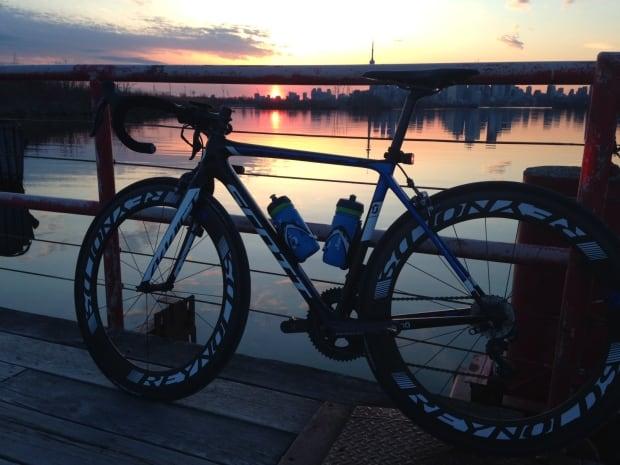 Jamie's $11,000 bike before it got stolen