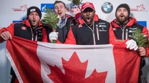 Canada grabs gold, silver in bobsleigh World Cup