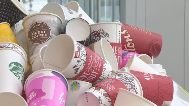 The City of Vancouver is seeking suggestions to prevent 2.6 million disposable coffee cups from being thrown in the trash in the city each week.