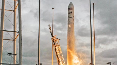 Antares rocket body