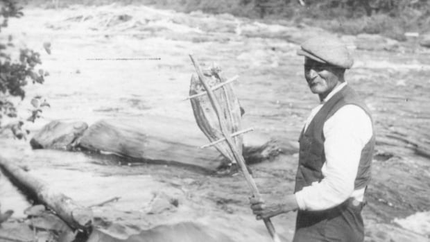 Joe Amite Jeddore, seen here in archival photos in the community of Conne River, in central Newfoundland.