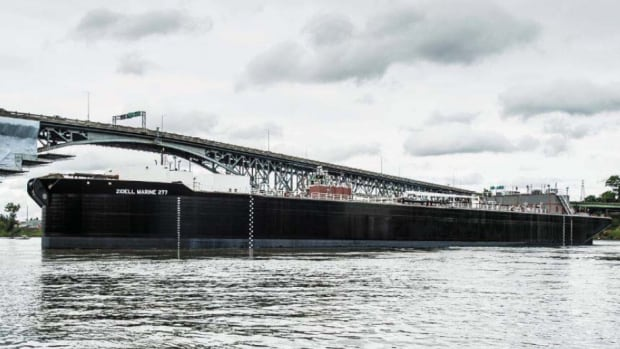 The Zidell Marine 277, at more than 131 metres in length, is longer than a football field.
