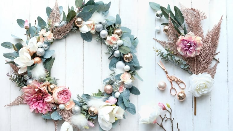 The Prettiest Diy Faux Floral Wreath To Make Now And Enjoy