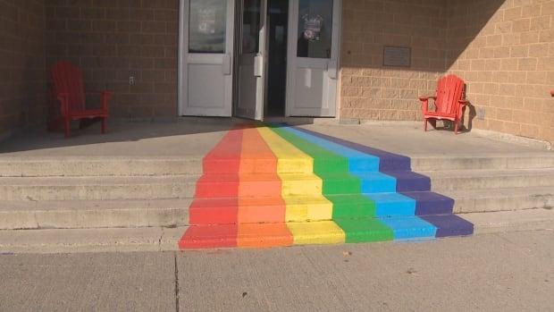 rainbow staircase