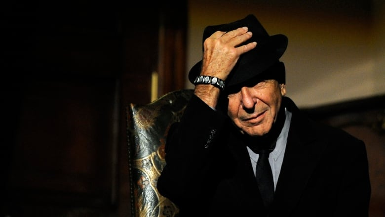 Go behind the scenes of the new Leonard Cohen album
