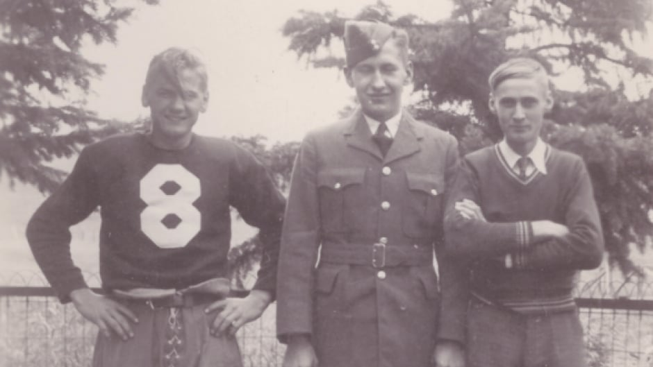 Everett Klippert, right, is shown with his brothers in this family photo.