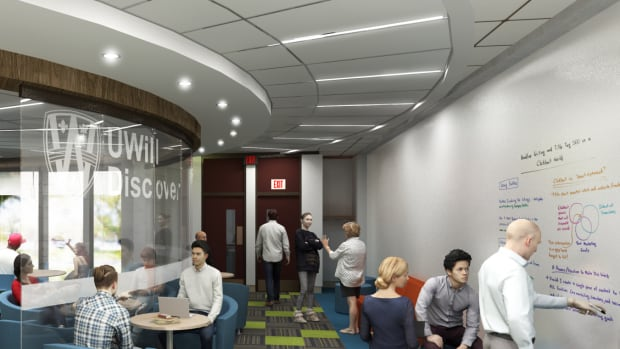 The Collaboratory will provide students with a state-of-the-art space to share their findings, according to library staff.