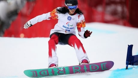 Michelle Salt Snowboard Paralympics Canada