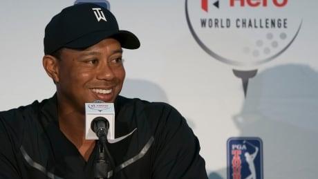 GOLF Tiger Woods Returns