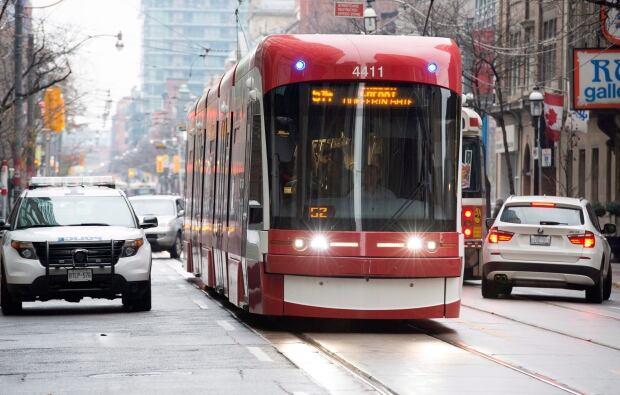 Toronto Streetcar Traffic 20171113