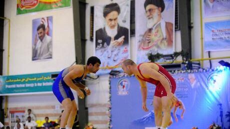 Mideast Iran Wrestling US