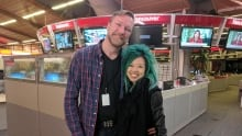 Paul Therien and  Jen Sungshine