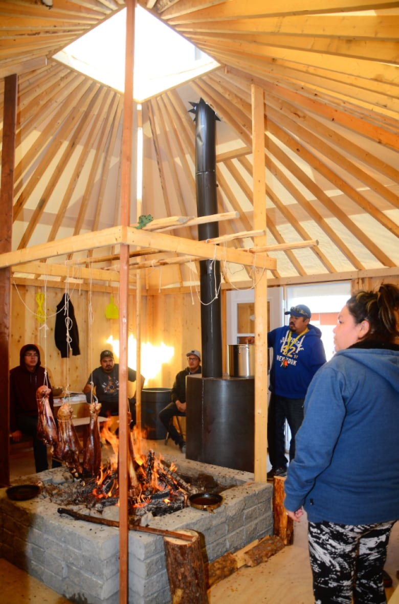 The idea was to have a place to transmit the culture and values, because  fewer and fewer young people had access to a bush camp. (Cree School Board)