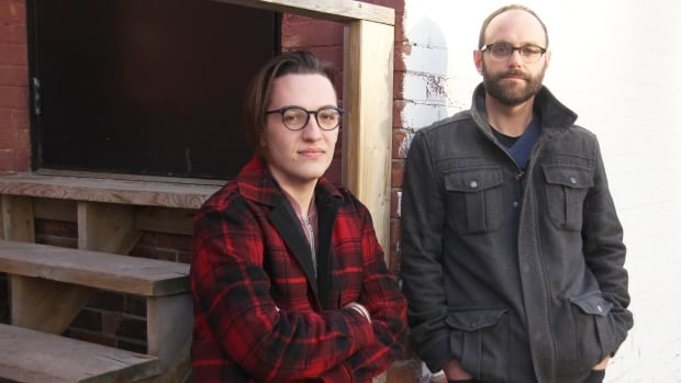Wilfrid Laurier University student Toby Finlay, left, and sociology assistant professor Greg Bird say a debate over free speech on campus has lead to gender diverse students, faculty and staff feeling unsafe.