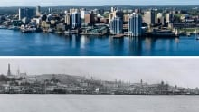 halifax then and now