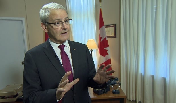 Transport Minister Marc Garneau