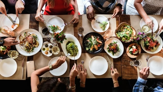 While this photo may look like an inviting dinner table to many, those trying to manage an eating disorder might find the idea of gathering around food anxiety inducing.