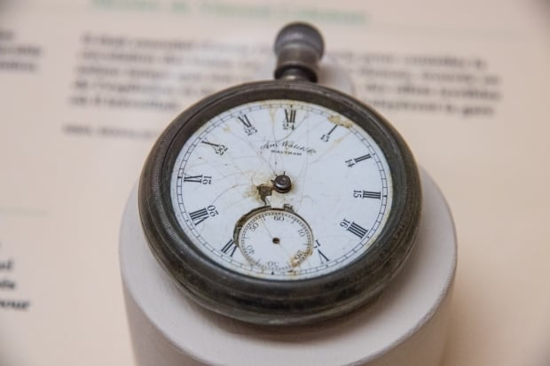 Coleman's wife got his watch after he died. It now sits in the Maritime Museum of the Atlantic.