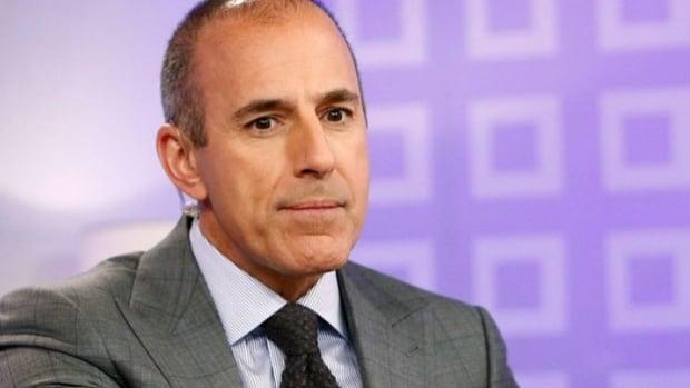 Woman accuses former U.S. TV anchor Matt Lauer of sexual assault - CBC.ca