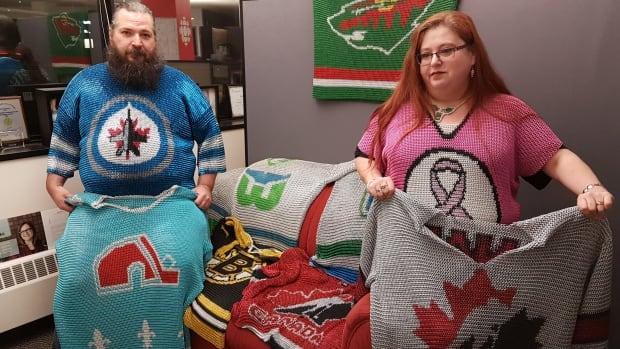 Winnipegger's Chain Mail Hockey Jerseys Get Attention Of NHL