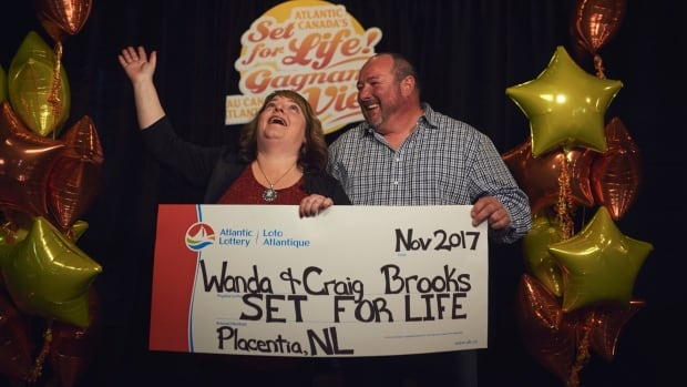 Wanda and Craig Brooks opted for the $675,000 lump sum, after winning the Set For Life scratch ticket top prize.