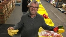 Derek Pace, food security manager, The Mustard Seed, Victoria
