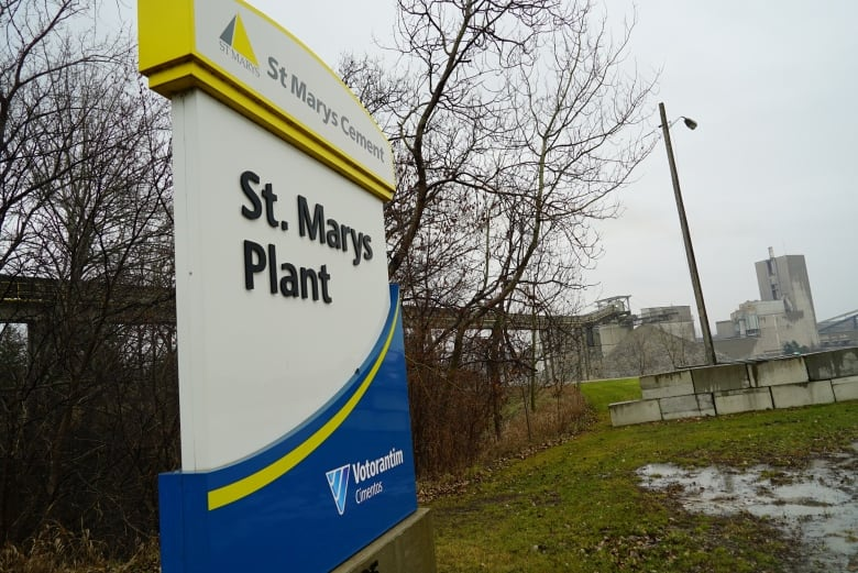 In quaint St  Marys, cement plant odour has the town talking