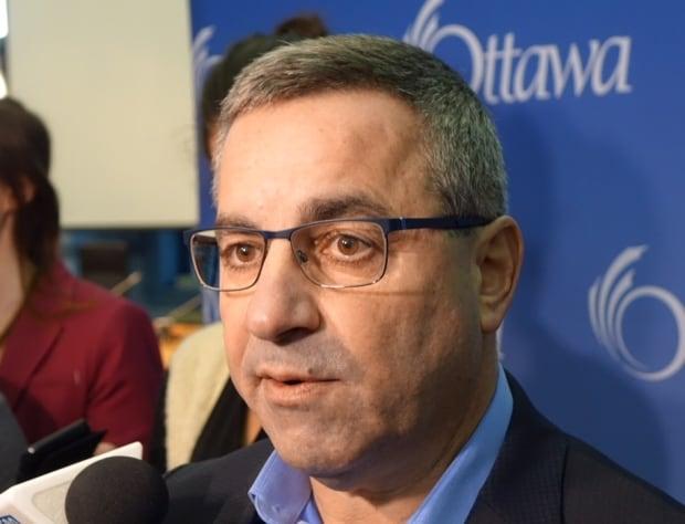 City manager Steve Kanellakos