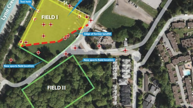 The District of North Vancouver introduced a plan last summer for a second soccer field near Lynn Creek which would allow for future soccer tournaments, but require extensive tree removal. A decision is expected in early 2018.