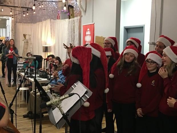 Lester B. Pearson choir Sounds of the Season London