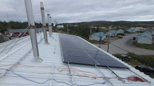 The solar panels were installed in September, and have generated the equivalent of about 605 litres of diesel by October, according to Makivik Corporation.