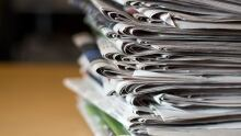 newspapers stock