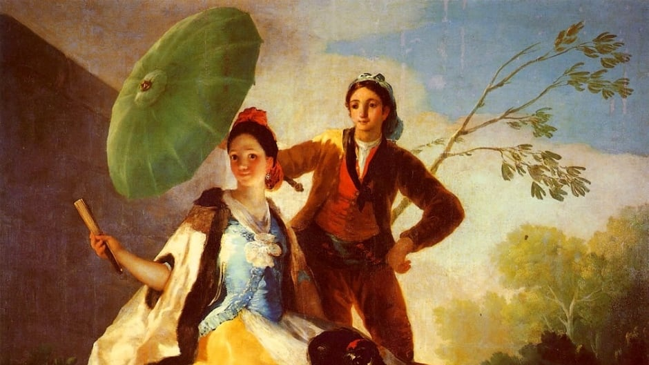 Goya's paintings were more vibrant prior to his illness.
