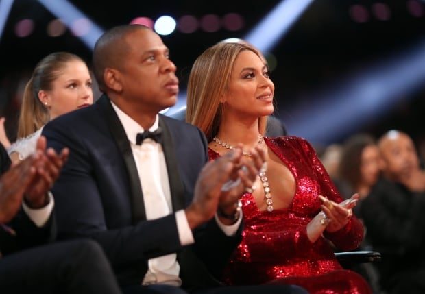 Jay-Z and singer Beyonce