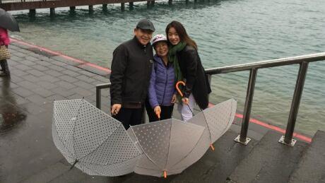 John Chang, Allison Lu and Amy Chang