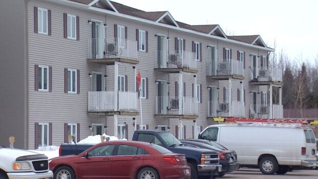 Fredericton apartments, McKnight Street