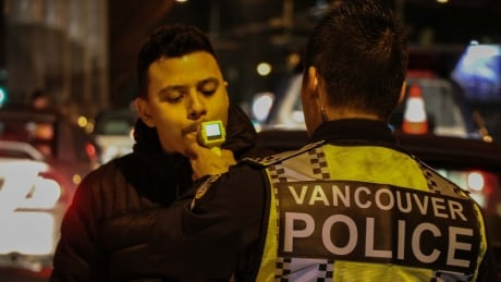 DRUNK DRINKING AND DRIVING COUNTERATTACK LIQUOR VANCOUVER POLICE VPD 2 BREATHALYZER TEST