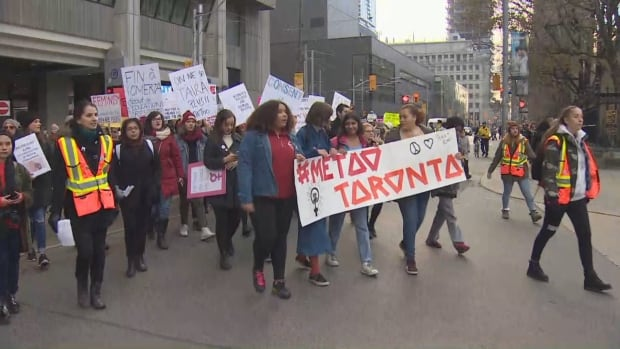Toronto #MeToo rally