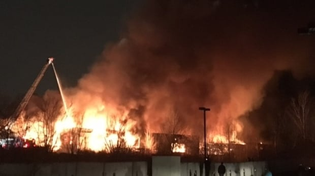 explosion fire at abandoned gatineau factory suspicious