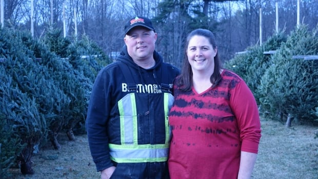 Grant and Pam Martin have say they've had to raise the price of their Christmas trees this year because costs to plant and maintain the trees have gone up.